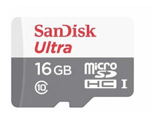 Memoria Sandisk Micro Sd+adapt 16gb Android 80 Mbs