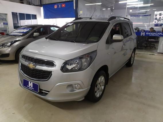 Chevrolet Spin Ltz 1.8 8v Econo.flex 5p Aut. - Prata - 2...