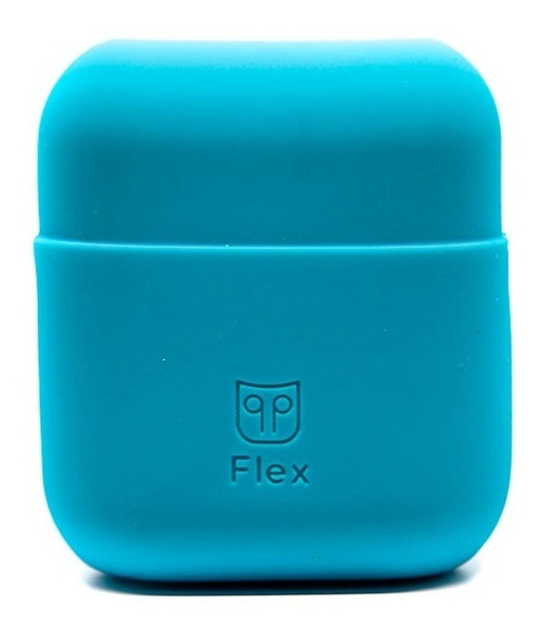 Funda Para Air Pods De Silicón Podpocket Coral Blue 1pz