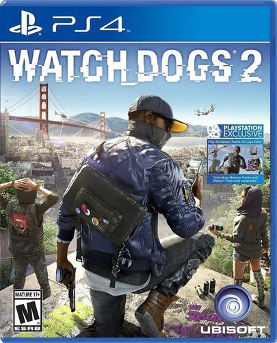 Imagen 1 de 8 de Watchdogs 2 Ps4 Juego Fisico Sellado Original Sevengamer