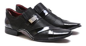 Sapato Social Masculino Calvest Couro Legítimo Viena