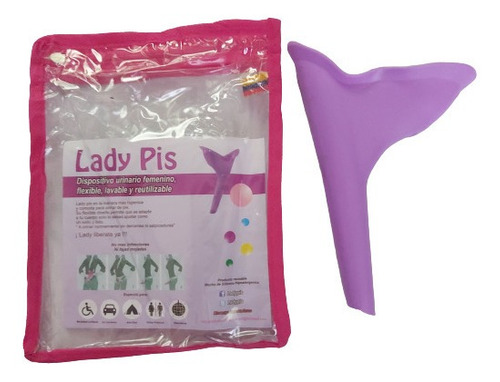 Dispositivo Embudo Femenino Para Orinar De Pie Lady Pis