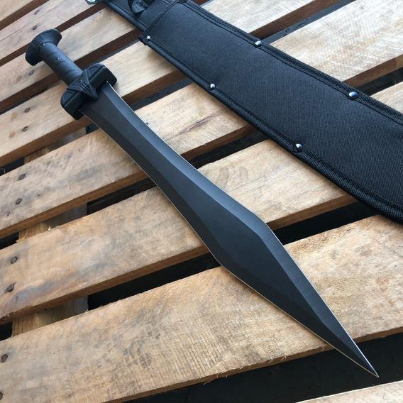 Espada Gladius Machete 61cm Rompe Cristales Funcional Filo