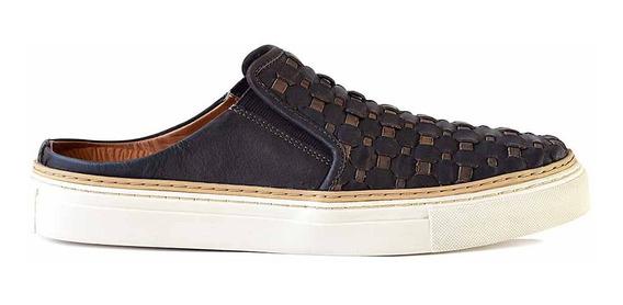 Alpargata Cuero Briganti Zapato Hombre Elastico - Hcal00727