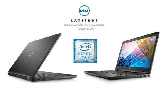 Notebook Dell Latitude 5490 I5 8ºger 8gb 500gb