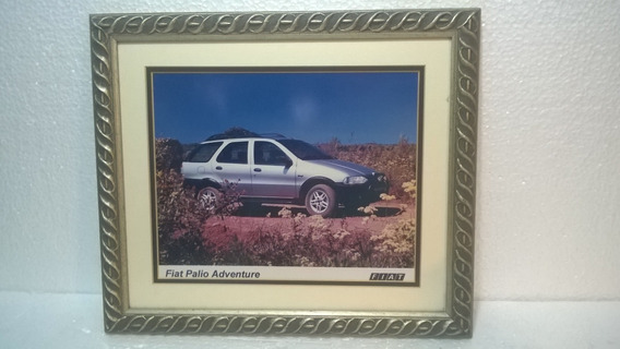 Placa Quadro Decorativo Fiat Palio Adventure Garagem