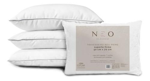 Travesseiro Neo Prime 233 Fios  Suporte Firme