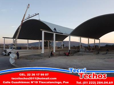 Techos Curvos, Arco Techos, Techos En Arco Y Estructurales