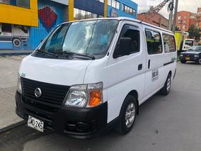 Nissan Urvan 3000, Capacidad De 15 Pasajeros, Diesel.