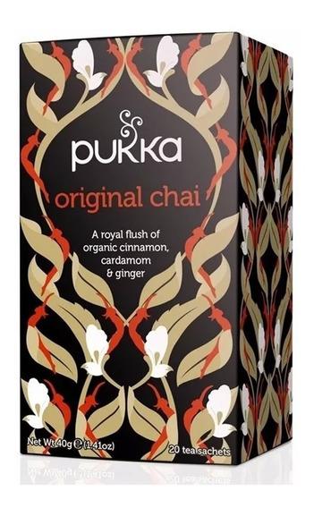 Té Orgánico Sabor Chai Original Pukka Herbs A0003234