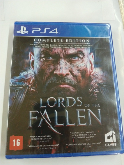 Lords Of The Fallen Complete Edition Ps4 Midia Fisica