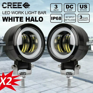 Halogenos Led 8000lm Por Foco