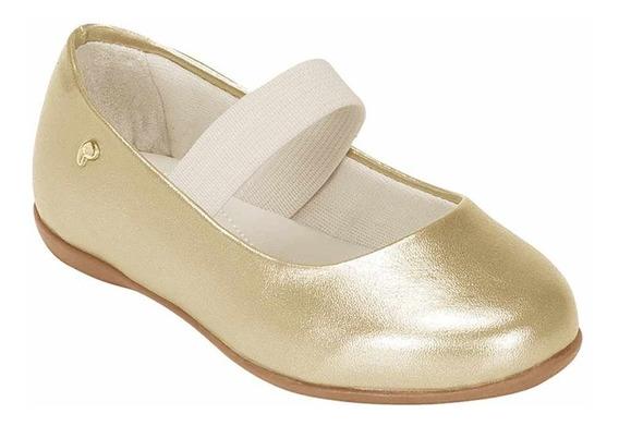 Sapatilha Infantil Bailarina 188 Dourado