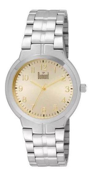 Relógio Dumont Analógico Feminino Du2035lun/3d