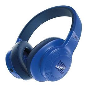 Fone De Ouvido Jbl E55bt 3.5mm Bluetooth Com Microfone Azu