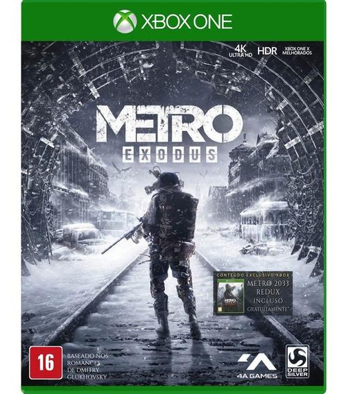 Jogo Metro Exodus - Xbox One Mídia Fisica Lacrado