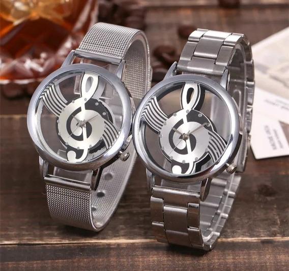 Relógio De Pulso Clave De Sol Música 2 Unidades