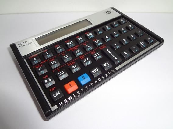 Calculadora Financeira Hp 12c Platinum Original Fotos Reais
