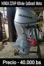 Motor Fuera De Borda Honda 225hp 4 Motor