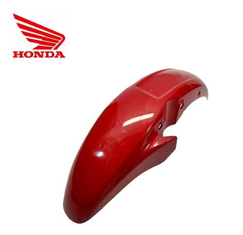 Imagem 1 de 4 de Paralama Dianteiro Honda Cg Titan 150 Original Vermelho