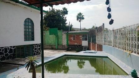 Casa Amueblada Con Alberca Y 1000m2 De Terreno