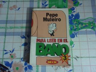 Libro Chistes De Gallego Pepe Muleiro Para Leer En El Baño