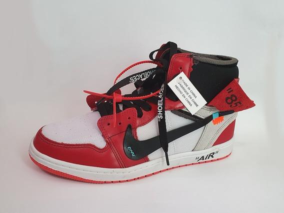 Tênis Air Jordan 1 X Off White