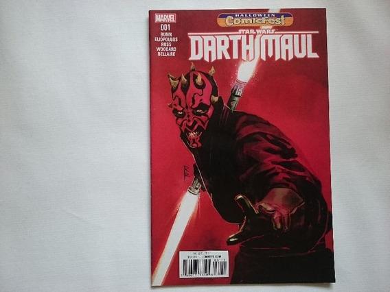 Comic Star Wars: Darth Maul # 1 - Halloween Comicfest Inglés