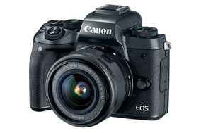 Camera Canon Eos M+carregador+cabo+flash+lente 18-55mm 850
