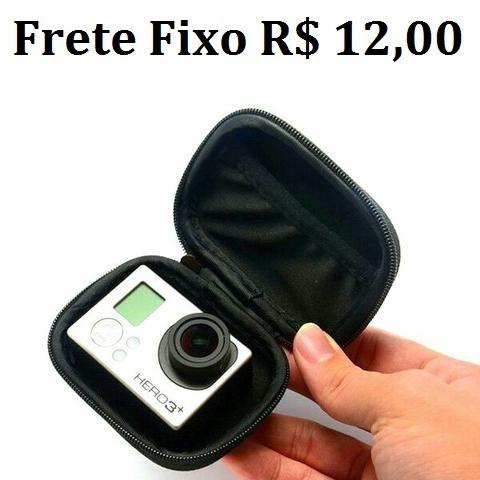 Case Estojo Capa Bolsa Sportcam Go Pro, Xiomi Yi, Sj 4000