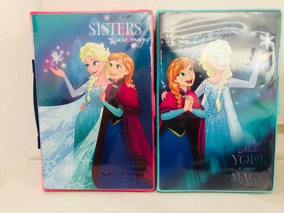 Maleta Infantil De Pinturas Frozen Contem 86 Itens