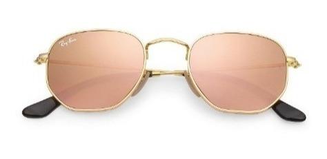 Oculos Feminino Mascu Redondohexa Varias Cores Lente Cristal
