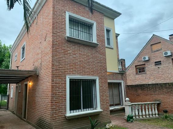 Casa 5 Ambientes Señorial Estilo Inglés Real Oportunidad!!!