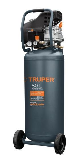 Compresora 80 Lt 3 Hp Vertical 120 V Truper 15656