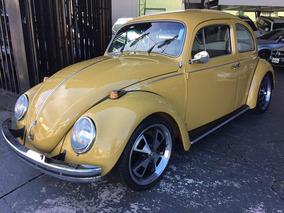 Volkswagen Fusca 1500 1972 Bege Colecionador