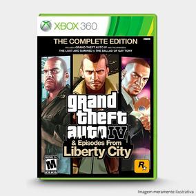 Gta 4 Grand Theft Auto 4 Complete Edition - Novo P/ Xbox 360