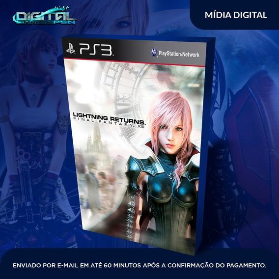 Final Fantasy Xiii Lightning Returns Ps3 Envio Hj.