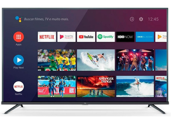 Smart Tv Led Tcl 50 4k Uhd Hdr, Wifi, Hdmi, Usb, Android Tv