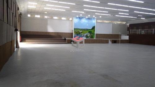 Imagem 1 de 19 de Galpão Para Aluguel, 100 Vagas, Centro - São Bernardo Do Campo/sp - 96051