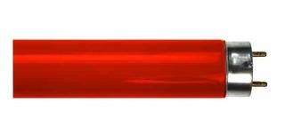 Tubos Fluorescentes De Colores Rojo 40w T8 120 Cms Sylvania