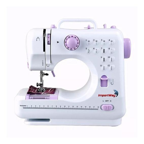 Máquina De Costura Importway Bivolt 12 Pontos Multifuncional
