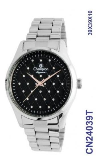 Relógio Feminino Champion Prateado Cn24039t