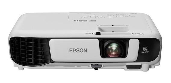 Projetor Epson W42+ 3lcd Powerlite Wxga Hdmi 3600 Lumens