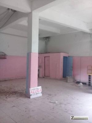 Salão Para Alugar, 100 M² Por R$ 1.000/mês - Jardim São Paulo - Guarulhos/sp - Sl0006