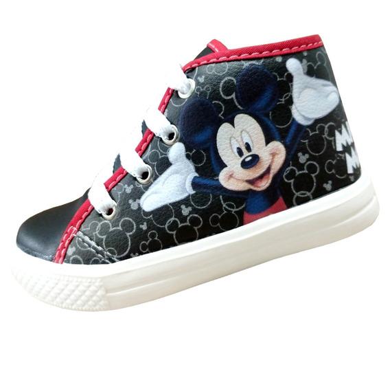 Tênis Infantil Masculino Personagens Mickey Original
