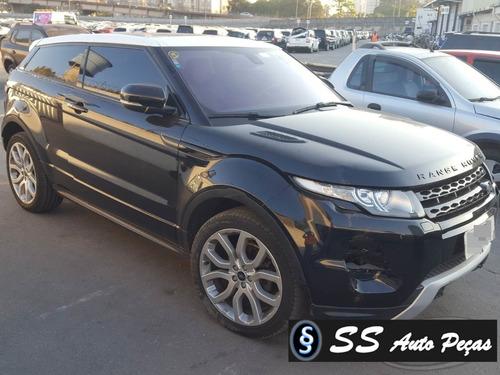 Sucata Range Rover Evoque 2013 - Somente Retirar Peças