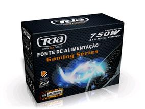 Fonte 750w Atx P4 Tda 24 Pinos Atx750wp4 - Tda