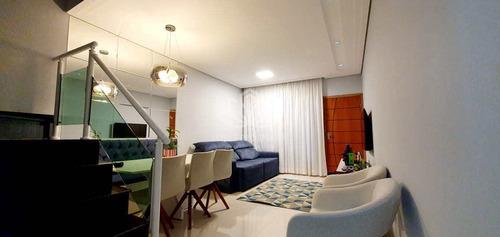 Sobrado Com 3 Dorms, Campestre, Santo André - R$ 725 Mil, Cod: Sok033 - Vsok033