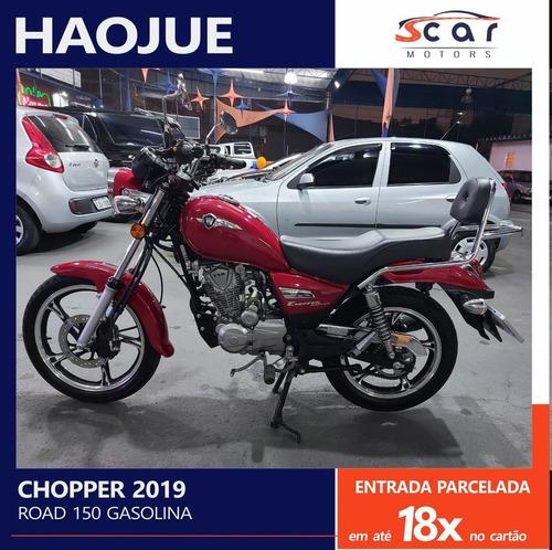 Imagem 1 de 15 de Haojue Chopper Road 150 - 2019