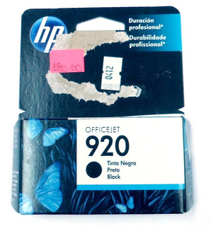 Cartucho Hp Original 920 Negro Cd971al Vto2013 E8060